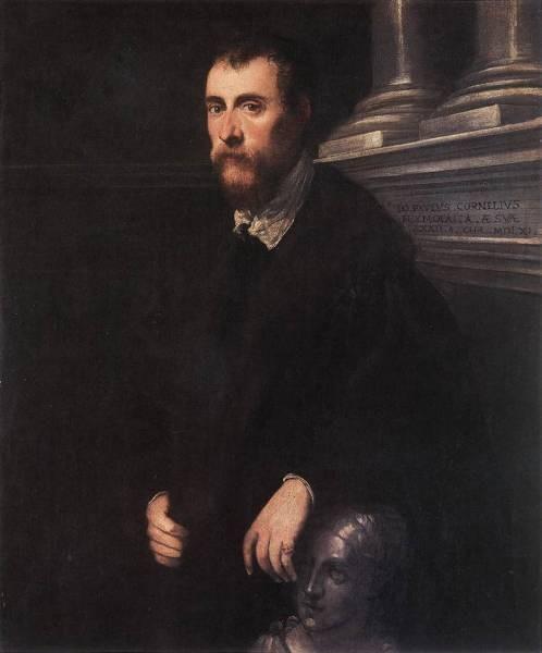 Tintoretto Portrait of Giovanni Paolo Cornaro